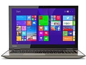 Toshiba Satellite Fusion PSLRAU-00K003 L55W-C5220 Notebook PC - Intel i7-5500U 2.4 GHz Dual-Core Processor - 12 GB DDR3L RAM - 1 TB Hard Drive - 15.6-inch Display - Windows 8.1 - Satin Gold Finish