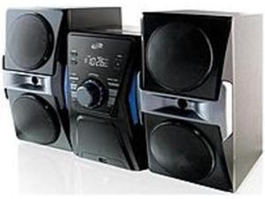 GPX iLive IHB613B Home Micro System with Bluetooth and CD/FM - USB - Black