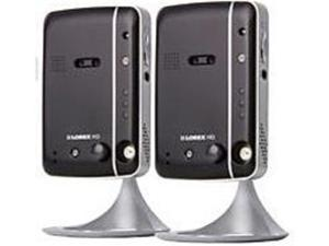 Lorex LNC204PK2 IP Indoor Security Camera with Two-Way Audio - 2 Pack
