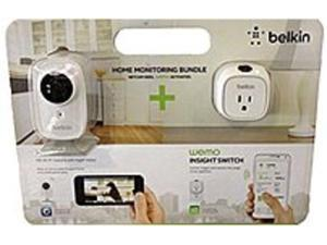 Belkin F5Z0559 Netcam HD Plus and WeMo Bundle Monitoring