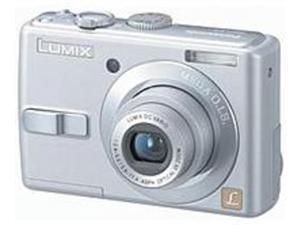 Panasonic Lumix DMC-LS75BLST 7.2 Megapixels Digital Camera - Silver