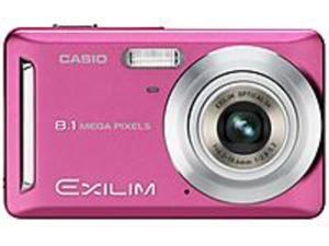 Casio Exilim EX-Z9PK 8.1 Megapixels 3x Optical Zoom/4x Digital Zoom 2.6-inch LCD Screen Digital Camera