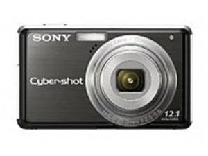 Sony Cyber-shot DSC-S980/B S980 12.1 Megapixels Digital Camera - 4x Optical Zoom/2x Digital Zoom - Face Detection -  Black