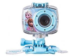 Sakar 78027 Disney Frozen 5.1 Megapixel HD 720p Digital Camera for Kids - 4x Digital Zoom - 1.8-inch rear display - Waterproof Case (up to 6ft in water)