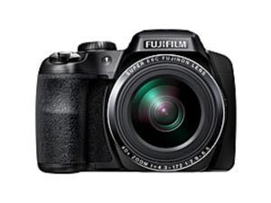 "Fujifilm FinePix S8200 16.2 Megapixel Bridge Camera - Black - 3"" LCD - 16:9 - 40x Optical Zoom - 2x - Optical (IS) - 4608 x 3456 Image - 1920 x 1080 Video - HDMI - PictBridge - HD Movie Mode"