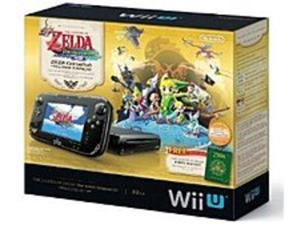 Nintendo WUPSKAFL The Legend of Zelda: The Wind Waker for WiiU - 32 GB Deluxe Set Bundle - Black