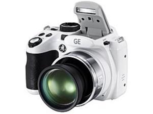 GE Imaging Power Pro Series X600-WH 14.0 Megapixels Digital Camera - 26x Optical/6x Digital Zoom - 2.7-inch TFT LCD Display - 4.7 mm Wide Angle Lens - White