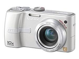Panasonic Lumix DMC-TZ1S 5 Megapixels Digital Camera - 10x Optical Zoom/4x Digital Zoom - 2560 x 1920 - 2.5-inch LCD Display - 13.4 MB Memory - MultiMediaCard, SD Memory Card - Silver