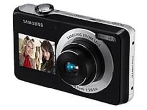 Samsung EC-PL100ZBPBE3 PL100 12.2 Megapixels Digital Camera - 3x Digital Zoom/5x Optical Zoom - 2.7-inch LCD Display - Black