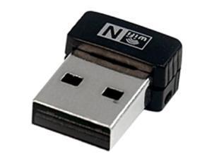 StarTech.com USB150WN1X1 Network Adapter - IEEE 802.11n Wi-Fi Standard - 150 Mbps Transmission Speed - External Form Factor - Black