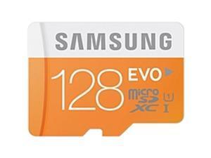 Samsung EVO MB-MP128DA 128 GB microSDXC - Class 10/UHS-I - 48 MB/s Read - 20 MB/s Write - 1 Card/1 Pack