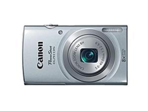"Canon PowerShot 135 16 Megapixel Compact Camera - Silver - 2.7"" LCD - 16:9 - 8x Optical Zoom - 4x - Digital (IS) - 4608 x 3456 Image - 1280 x 720 Video - PictBridge - HD Movie Mode"