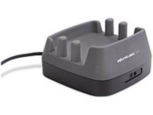 SoundLogic CSU-12/6081 3-Port USB Charging Station for Smart Devices - Grey