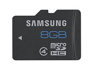 Samsung 8 GB microSDHC - Class 4 - 1 Card