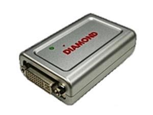 Diamond Multimedia BVU195 HD to USB Display Adapter Pro - DVI and VGA - External