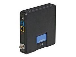 Linksys CM100 Cable Modem - USB - Ethernet 10Base-T/100Base-TX - RJ-45