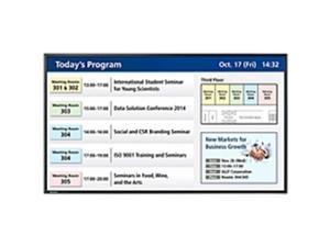 "Sharp Professional PN-Y555 Digital Signage Monitor - 55"" LCD - 1920 x 1080 - Edge LED - 450 Nit - 1080p - HDMI - USB - DVI - SerialEthernet"