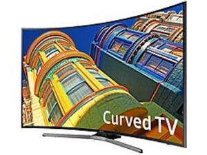 Samsung 6 Series UN55KU6500 54.6-inch 4K Ultra HD Curved TV - 3840 x 2160 - 120 MR - USB, HDMI - Black