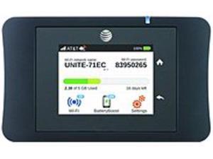 AT and T C9F-00155 Unite Pro 4G LTE Mobile Wi-Fi Hotspot - Black