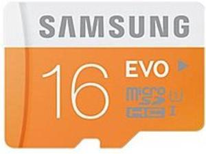 Samsung EVO MB-MP16D Flash Memory Card with Adapter - 16 GB