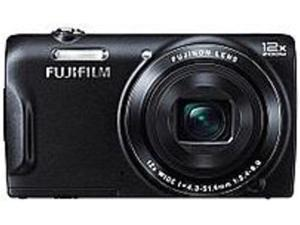 Fujifilm FinePix FX-T555WMB-US T555 16 Megapixel Digital Camera - 12x Optical Zoom - 3.0-inch TFT LCD Display - 24mm Wide-angle Lens - Black