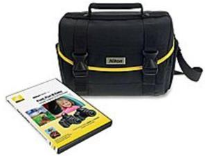 Nikon DSLR Camera Bag with Instructional DVD