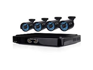 Night Owl 8 Channel Smart HD Video Security System with 1 TB HDD and 4 x 720p HD Cameras - Digital Video Recorder, Camera - 1 TB Hard Drive - 15 Fps - 720 - Composite Video In - Composite Video ...