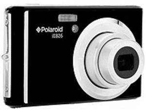 Polaroid IE826-BLK 18.0 Megapixel Digital Camera - 8x Optical Zoom - 2.4-inch LCD Display - 1080p - Black