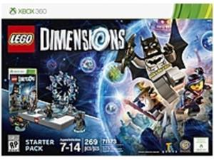 Lego Dimensions 883929450404 Gaming Figures Starter Pack - Xbox 360