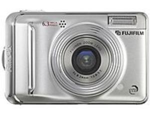 FUJIFILM FinePix A600 Silver 6.0 MP 3X Optical Zoom Digital Camera