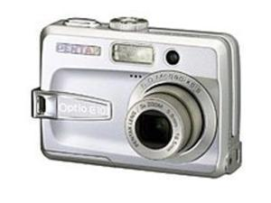 Pentax Optio 18536 E10 6 Megapixels Digital Camera - 3x Optical Zoom/4x Digital Zoom - 2.4-inch LCD Display - SD Card - Silver