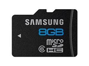 Samsung Essential MB-MS8GA 8 GB microSDHC - Class 6 - 24 MB/s Read - 13 MB/s Write - 1 Card