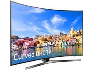 Samsung 7 Series UN78KU7500 78-inch 4K Ultra HD Curved Smart LED TV - 3840 x 2160 - 120 MR - 16:9 - HDMI, USB - Black