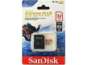 SanDisk SDSDQX-032G-AAWI4A 32 GB Extreme Plus UHS-1 microSDHC Memory Card