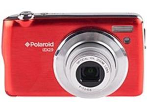 Polaroid IEX29-RED Digital Camera 18.0 Megapixels Digital Camera - 10x Optical Zoom - 2.7-inch LCD Display - Red