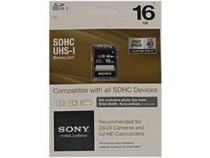 Sony SF16UY/WMBF2 16 GB Class 10 UHS-1 Memory Card