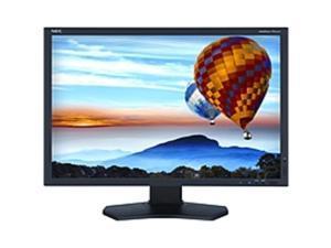 "NEC Monitor PA242W-BK 24.1"" LED LCD Monitor - 16:10 - 8 ms - Adjustable Monitor Angle - 1920 x 1200 - 1.07 Billion Colors - 340 Nit - 1,000:1 - WUXGA - DVI - HDMI - MonitorPort - USB - 56 W - ..."