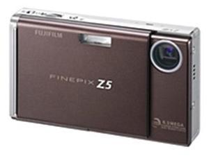 Fuji FinePix 15728724 Z5FD 6.3 Megapixels Digital Camera - 3x Optical Zoom/6.2x Digital Zoom - xD, xD Type H memory Card - Mocha Brown