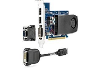 HP GeForce GT 630 Graphic Card - 2 GB DDR3 SDRAM - PCI Express x16 - 2048 x 1536 - DisplayPort - DVI