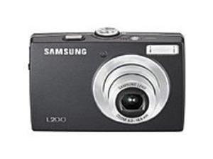 Samsung EC-L200ZBBA L200 10.2 Megapixel 3x Optical Zoom Digital Camera - 2.5-inch LCD Display