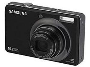 Samsung EC-SL420BBP/US SL420 10.2 Megapixels 5x Optical Zoom/5x Digital Zoom 2.7-inch LCD Digital Camera - Black