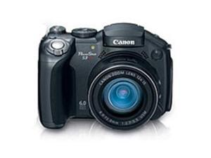 Canon PowerShot S3 IS 6.0 Megapixels Digital Camera - 12x Optical Zoom/4x Digital Zoom - 2.0-inch Color Display
