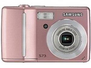 Samsung S730PINK S730 7.2 Megapixels Digital Camera - 3x Optical Zoom/5x Digital Zoom - 2.5-inch LCD Display - MultiMedia/SD - Pink
