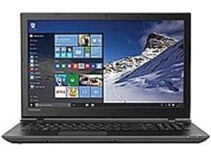 Toshiba Satellite PSCMLU-09L0KU C55-B5277 Laptop PC - Intel Celeron N2840 2.16 GHz Dual-Core Processor - 2 GB DDR3L RAM - 500 GB Hard Drive - 15.6-inch Display - Windows 10 Home - Jet Black