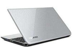 Toshiba Satellite PSKLSU-01Q03E L55-A5184 Laptop PC - Intel Core i5-4200U 1.6 GHz Dual-Core Processor - 8 GB DDR3L RAM - 750 GB Hard Drive - 15.6-inch Display - Windows 8.1 - Mercury Silver
