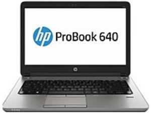 HP ProBook 640 G1 J5P26UT Notebook PC - Intel Core I7-4610M 3.0 GHz Dual-Core Processor - 8 GB DDR3 SDRAM - 500 GB Hard Drive - 14.0-inch Display - Windows 7 Professional 64-bit / Upgrade Windows ...