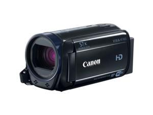 "Canon VIXIA HF R60 Digital Camcorder - 3"" - Touchscreen LCD - HD CMOS - Full HD - Black - 16:9 - 2.1 Megapixel Image - 2.1 Megapixel Video - MP4, AVCHD, MPEG-4 - 32x Optical Zoom - 1140x Digital ..."