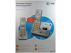 AT&T EL52253 Cordless Phone with 2 Handset, Answering System - DECT 6.0