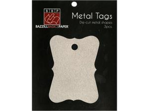 Antique Rectangle Metal Tags by Bazzill