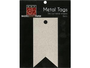 Banner Metal Tags by Bazzill